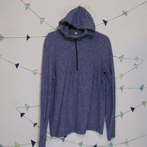Lululemon Gray Half Zip Hoodie Pullover Sweater